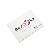 BAZOOKA FILM, SINGLE 10cm x 15cm 5pcs