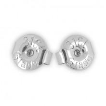 STEEL EARSTUDS BUTTERFLY 50pcs